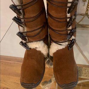 Ralph Lauren Boots Size:4